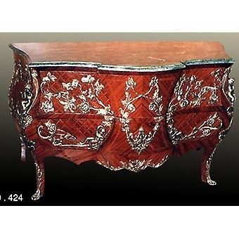 baroque chest of drawers sideboard Louis XV MoKm0424