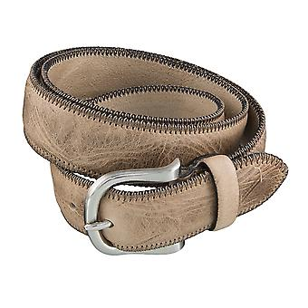DANIEL HECHTER belts men's belts leather belts, beige 3856