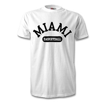 Miami Basketball t-skjorte