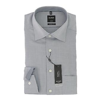 Olympus Luxor mens shirt marine moderne fit Kent collier non ferreux 45 gr.