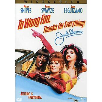 To Wong Foo Thanks for Everything Julie Newmar [DVD] USA import