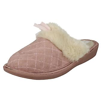 Ladies Four Seasons Slip On Slippers F432
