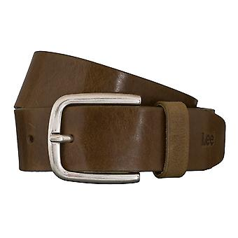 Lee belts men's belts leather belt green 5411