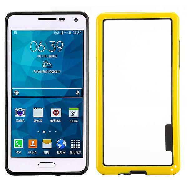 Hybrid bumper yellow for Samsung Galaxy A5 A500 A500F