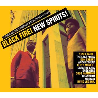 Black Fire! New Spirits! Radical and Revolutionary Jazz in the USA 1957-82 by Soul Jazz Records Pr
