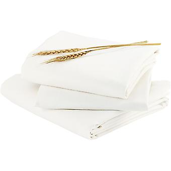 Bloom Alma Papa 2-Piece Fitted Sheet Set - Coconut White