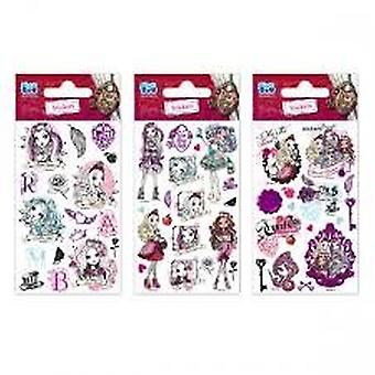 3 x Quality Sticker Sheets | EVER AFTER HIGH GLITTER | Party Bags & Decoration
