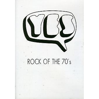 Ja - Rock i 70 erne [DVD] USA importerer