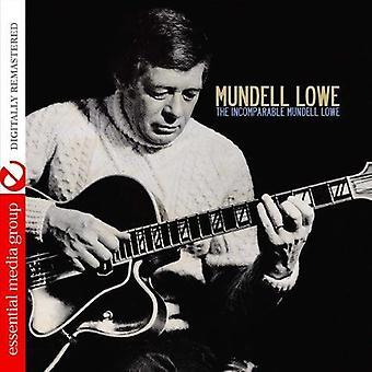 Mundell Lowe - importación de Estados Unidos Incomparable Mundell Lowe [CD]