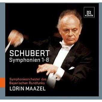 F. Schubert - Schubert: Symfonier nr 1-8 [CD] USA import