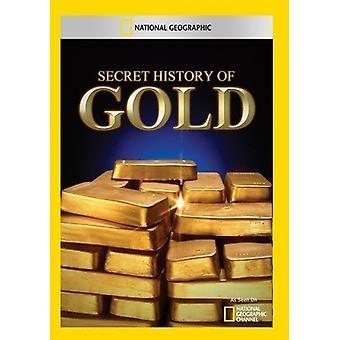 Geheime Geschichte der Gold [DVD] USA importieren