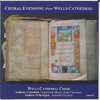 Brønde domkirke koret - kor Evensong fra Wells domkirke [CD] USA importerer