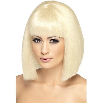 Flörtig peruk, Blond