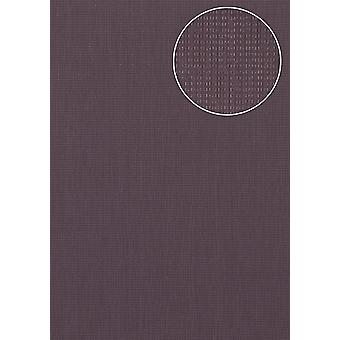 Structure wallpaper Atlas COL-527-6 non-woven wallpaper textured solid colors shimmering violet purple violet pastel violet 5.33 m2