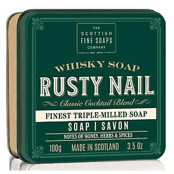 Scottish Fine Soaps Rusty Nail Soap In A Tin 100g