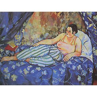 Suzanne Valadon - Blue Room Poster Print Giclee