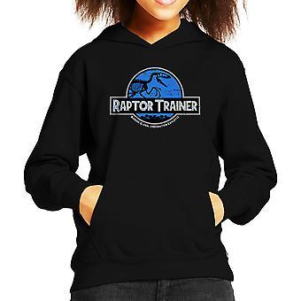 Raptor træner Jurassic verden Kid er hætte Sweatshirt