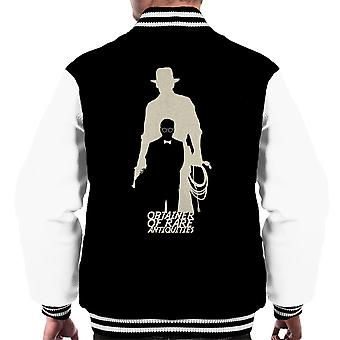OBTAINER von seltenen Antiquitäten Indiana Jones Männer Varsity Jacket