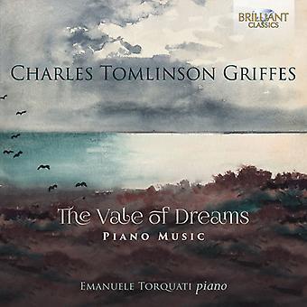 Griffes / Torquati, Emanuele - Charles Tomlinson Griffes: importazione USA Vale di sogni pianoforte musica [CD]