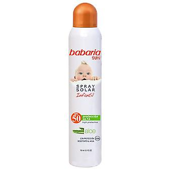 Babaria Sun Spray Kids F-50 (Children , Cosmetics , Body lotions)