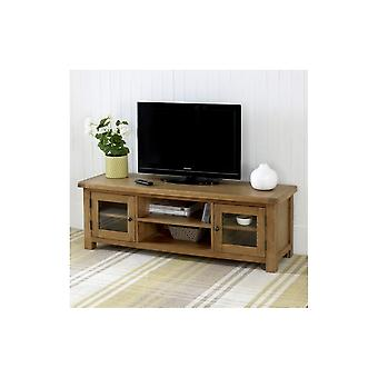 Birlea Malvern Wide Screen Tv Unit Oak