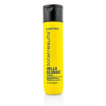 Matrix fullstendige resultater Hei Blondie kamille Shampoo (For Brillance) - 300ml/10.1 oz