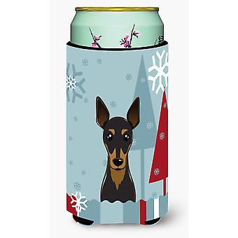 Winter vakantie Min Pin hoog Boy drank isolator Hugger