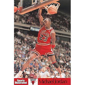 Michael Jordan SI SI -Chicago Bulls Poster Poster Print