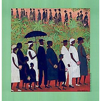 Funeral Procession Poster Print by Ellis Wilson (18 x 19)
