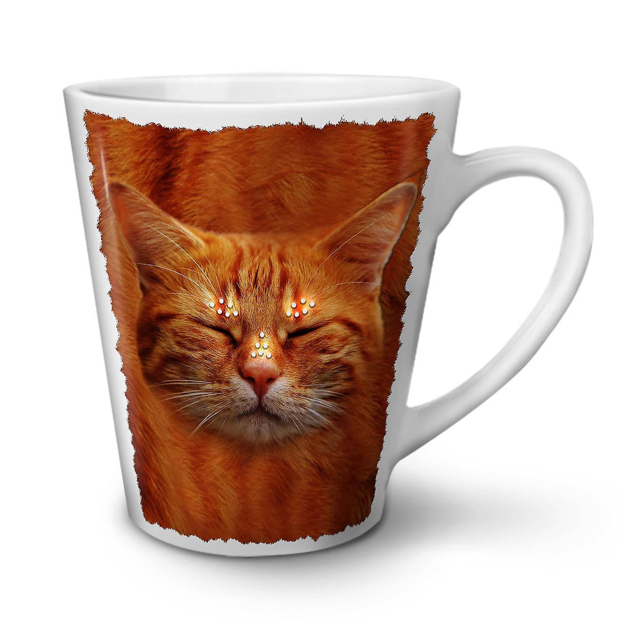 Tasse Nouvelle 12 Chaton Blanche Animaux OzWellcoda En Céramique Sleepy Latte Cat Café vb7yIYf6g
