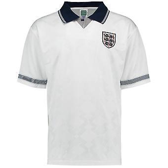 Pontuação desenha Inglaterra 1990 Home camisa