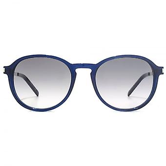 Saint Laurent SL 110 Sunglasses In Blue