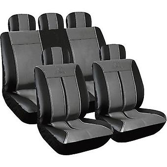 Eufab 28288 Buffalo Car Seat Cover Set Black, Grey