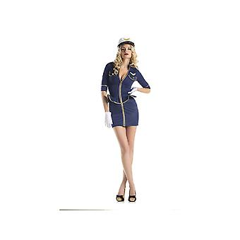 Be Wicked BW1422C 2 Piece Costume Fly Me Pilot womens costume