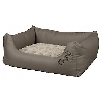 Trixie Drago Taupe Soft bed - Beige (Dogs , Bedding , Beds)