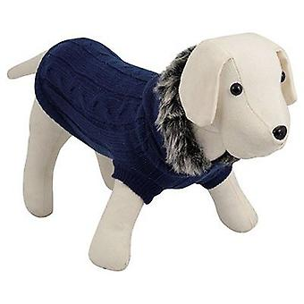Nayeco Hooded Jersey Blue Dogs 20 cm (Dogs , Dog Clothes , Sweaters and hoodies)