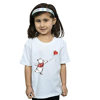Disney Girls Winnie The Pooh Balloon T-Shirt
