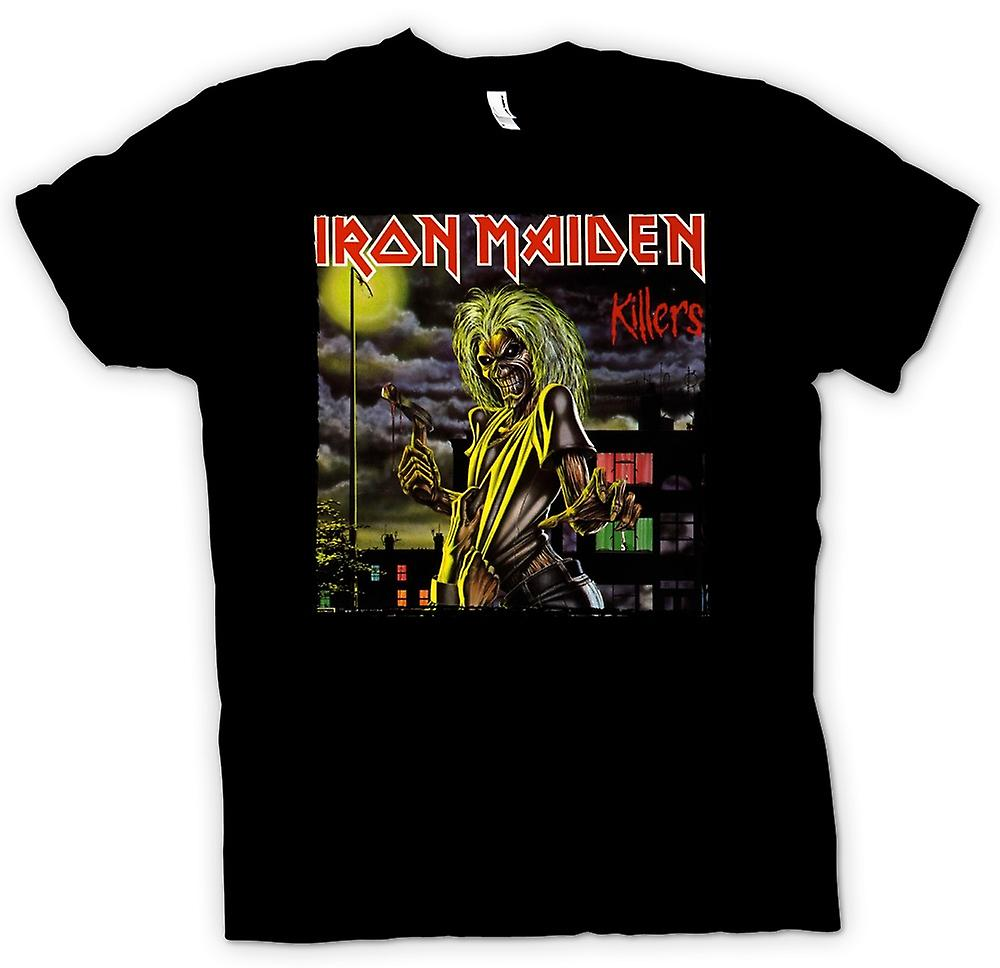 Femmes T-shirt - Iron Maiden - Killers Album Art
