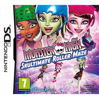 Monster High Skultimate Roller Labyrinth (Nintendo DS)