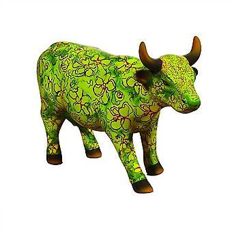 Cow Parade Flora (medium ceramic)