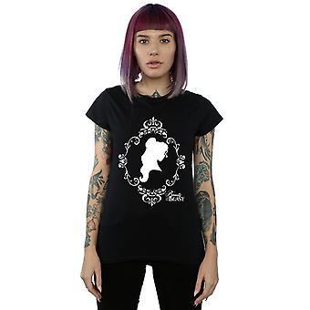 Disney Princess Women's Belle Silhouette T-Shirt