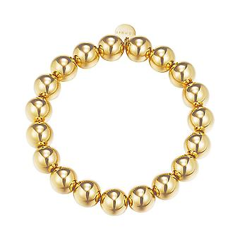 ESPRIT ladies bracelet stainless steel gold bold spheres ESBR11655B160