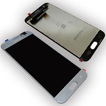 Display LCD Komplettset GH96-10992A Silber für Samsung Galaxy J3 2017 J330F