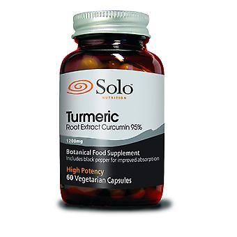 Solo Nutrition, Turmeric 1200mg 60 Capsules