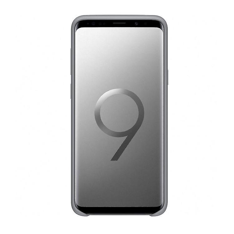 Samsung EF-PG965TJ Silikon Cover Hülle für G965F Galaxy S9 Plus grau