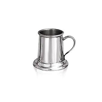 Miniature Pewter Tankard Bar Measure - 2oz