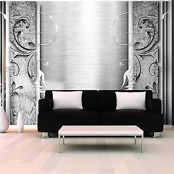 Wallpaper - Steel leaves