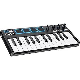 Alesis V-MINI MIDI keyboard Black/blue