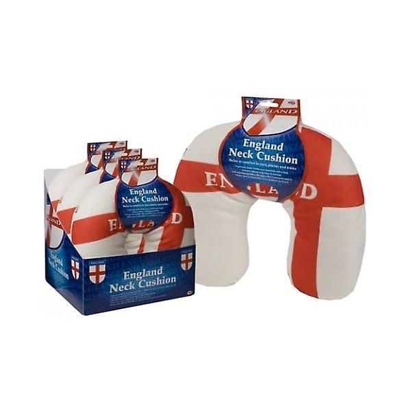 Union Jack Wear England St George Cross Neck Cushion