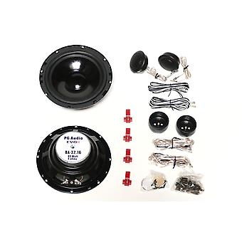 PG audio PA-X 2 16, maximum 240 Watts, 1 pair new